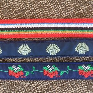 Accessories - Clasp Belts x3